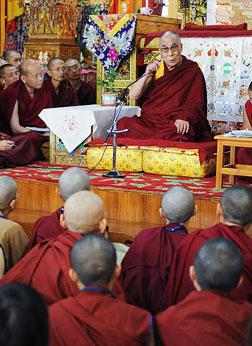 Abode Of Dalai Lama In Himalyas